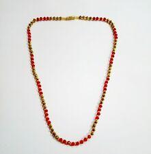 Indian Ethnic Necklace Stone Bead Chain Mala Wedding Bollywood Fashion Jewelry