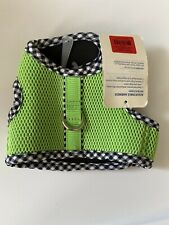 Top Paw Harness Vest, Green/Black- XS