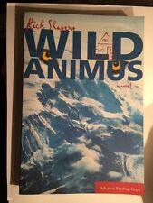 Wild Animals Rich Shapero Advance Reading Copy Softcover Free Shipping