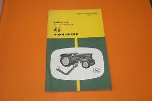 (153) JOHN DEERE Chisels portés 100 I et 100 IRC  Livret d'entretien
