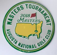 2018 Masters golf bar sign augusta national garage or pub sign new pga