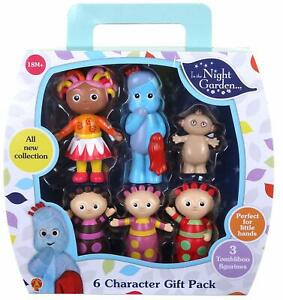 In the Night Garden 6 Figurine Character Gift Pack Upsy Daisy Igglepiggle