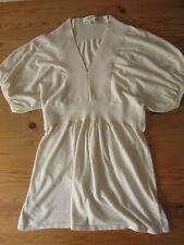Banana Republic Silk Blend Short Sleeved Shirt Comfortable Size Small