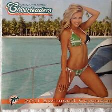 MIAMI DOLPHINS CHEERLEADER CALENDAR 2011 Mint Never Used Wall Swimsuit