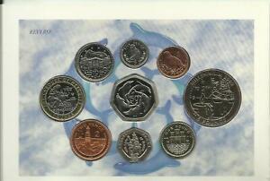 VERY RARE 1999 GIBRALTAR COIN COLLECTION SET - SEE SCAN