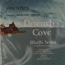 Descartes' Cove PC MAC CD learn measurement number operations algebra geometry +