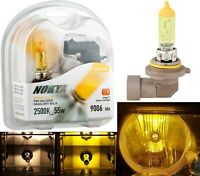 Nokya 2500K Yellow 9006 HB4 Nok7610 55W Two Bulbs Head Light Replace Plug Play