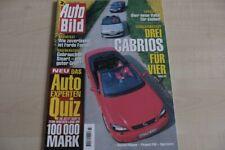 3) Auto Bild 23/2001 - Tips für Smart City Coupe G
