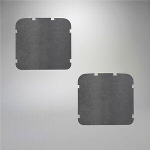 1956-1964 Volkswagen Beetle Seat Back Panel Pressboard for Front Seats 345131