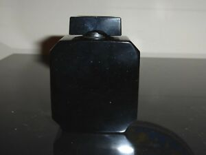 "BACCARAT 1929 LIU GUERLAIN BLACK EMPTY PERFUME BOTTLE 3"""