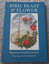 BIRD, BEAST & FLOWER, POETRY with WATERCOLOUR ILLUSTRATIONS, 64 PAGES, HARDCOVER