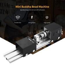 100W Mini Tornio DIY Lavorazione del Legno Buddha Perla Tornio Rettifica EU S9L2