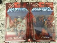 MASTERS OF THE UNIVERSE HE-MAN & ORKO - HE-MAN ACTION FIGURE (Read)