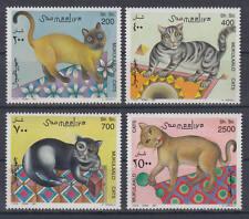 Somalia (Soomaaliya) - Michel-Nr. 624-627 postfrisch/** (Katzen / Cats)