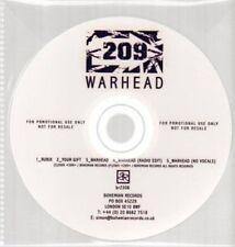 (AU389) 209, Warhead - DJ CD