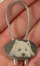 West Highland White Terrier Schlüsselanhänger Keyring
