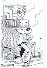 MARVEL ADVENTURES SPIDER-MAN ORIGINAL COMIC ART PAGE PETER PARKER #31 PAGE #7