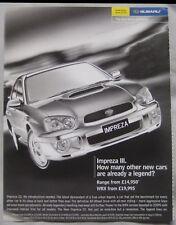 Subaru Impreza III Original advert