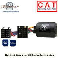 CTSPG006 Stereo Steering Stalk Control Adaptor For Peugeot 206, 307, 406