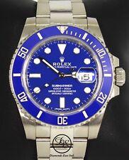 ROLEX Submariner 116619LB 18k White Gold Ceramic Bezel Watch 2017 B/PAPER *MINT*