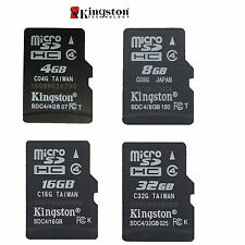ORIGINAL KINGSTON MICRO-SD SDHC 4gb/ 8gb/ 16GB/ 32gb TF Flash C4