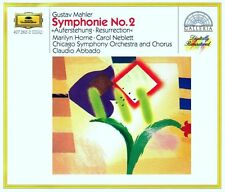Mahler: Sinfonia N.2  / Claudio Abbado, Chicago Symphony Orchestra - CD