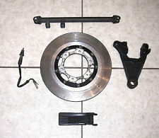 1977-'78 VINTAGE HONDA CB750 SUPER SPORT REAR BRAKE COMPONENT LOT, CLEAN (#CB54)