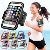 #Sports Arm Band Mobile Phone Holder Bag Running Gym Armband Exercise For Phones