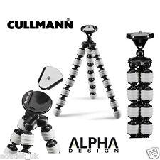 Cullmann Alpha Diseño 380 flexible ligero trípode de viaje Soporte para Cámara