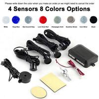 Kit 4 Sensori di Parcheggio per Auto 8 Colori Radar di Retromarcia DC12V Allarme