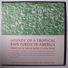 SOUND EFFECTS: Sounds Of A Tropical Rain Forest In America LP (insert, faint st