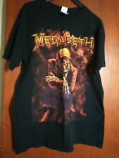 More details for megadeath tshirt 25th anniversary peace sells size m pit to pit 20