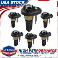 6 Pack Ignition Coils For Chevy 02-06 Trailblazer GMC Canyon Envoy UF-303 C1395