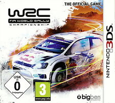 WRC: FIA World Rally Championship (Nintendo 3ds, 2014, keep case) NUOVO OVP