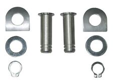 HARLEY FOOT PEG Male Mount Footpegs 2001/L Stainless steel PIN KIT & anti-rattle