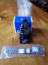"Casio MDV106-1ACVF ""DURO"" WITH MATCHING CASIO STAINLESS STEEL BRACLET. BRAND NEW"
