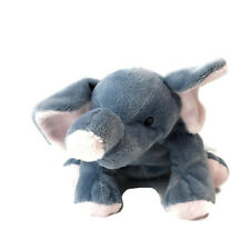 Ty Plush Toy Gray Elephant with Pink Ears