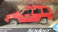 Solido 9006 - Jeep Pompiers F.D.N.Y Rouge 1:18