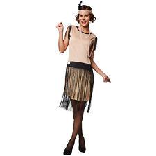 Disfraz para mujer Swing charleston años 20 1920s cabaret vestido carnaval