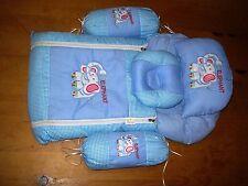 Luxury Carino Floreale 7 PEZZI Jumbo Set di biancheria da letto/lettino Set per i bambini o Baby blanke