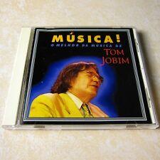 Tom Jobim - Musica! O Melhor Da Musica De JAPAN CD Jazz, Latin RARE OOP #123-1