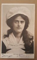 GERTRUDE ELLIOTT ( AMERICAN ACTRESS ) ROTARY PHOTO POSTCARD C. 1904 POSTED