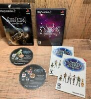 Star Ocean: Till The End of Time with Box PS2 Playstation 2 Rare Game CIB