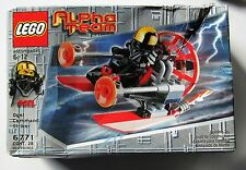 LEGO ALPHA TEAM - 6771 - OGEL COMMAND STRIKER GOLD Helmet NIB