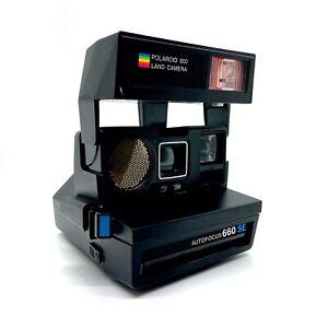 Polaroid Sun Autofocus 660 SE Instant Land Camera Tested and Works (See Photos)