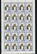 CENTRAL AFRICAN REPUBLIC MNH IN FULL SHEET OF 20 NORMAN ROCKWELL