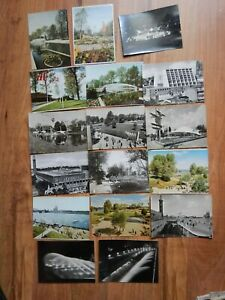 AK Postkarten Bundesgartenschau Köln 1957 17 Stück 50er jahre