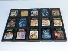 Atari 2600 15 Game Lot TESTED NICE SHAPE!!