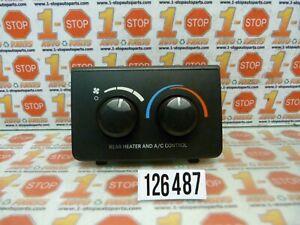 04 05 06 07 08 09 DODGE DURANGO REAR AC CLIMATE TEMPERATURE CONTROL OEM