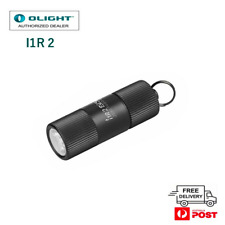 Olight i1r 2 EOS 150 Lumen Tiny USB Rechargeable Keyring Torch Black